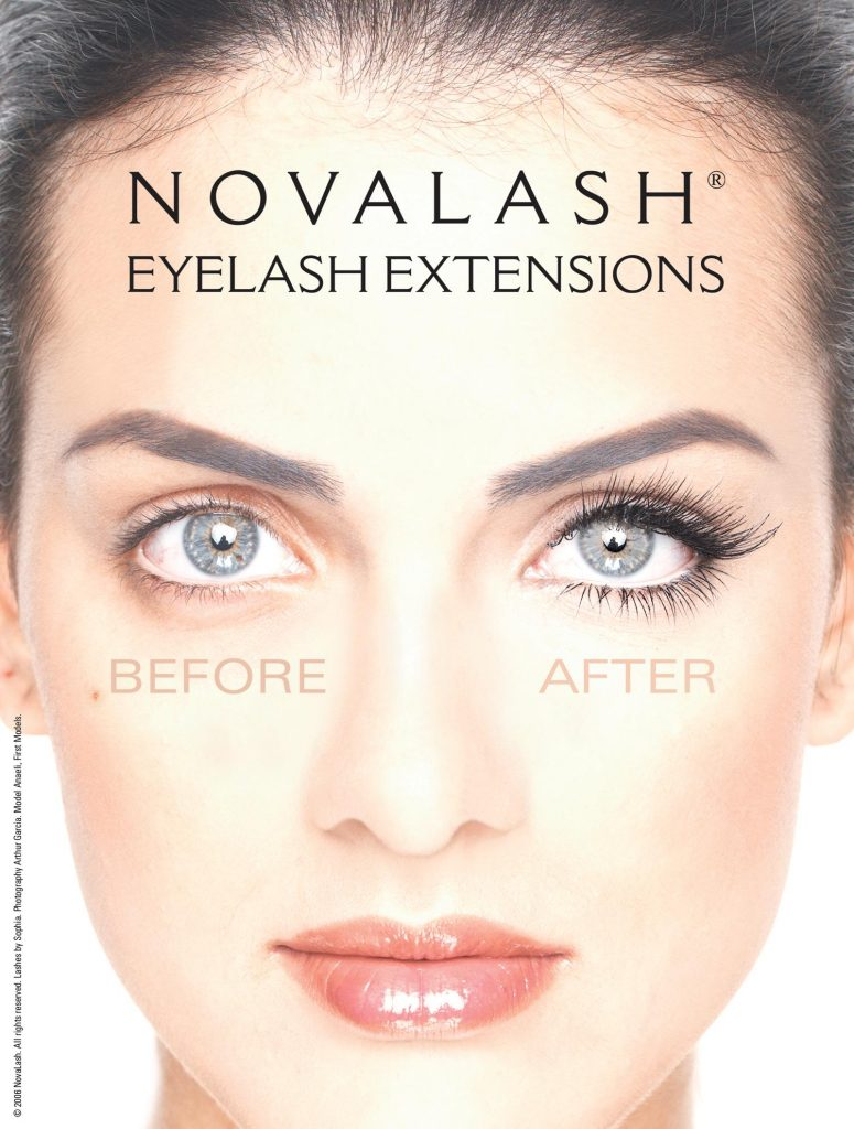 Why Novalash Eyelash Extensions Make Up Forever By Bella